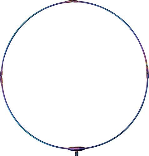 がまかつ(Gamakatsu) 玉網 がま磯 タモ枠 (四ツ折り・チタン) 50cm レインボー GM-833
