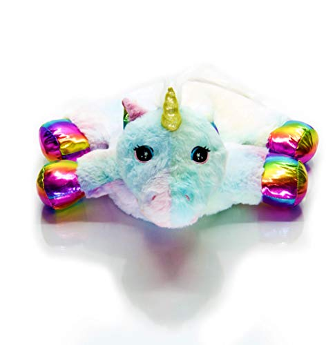 Sootheze Large Unicorn Aromatherapy Scented Stuffed Animal Toy – Microwavable Hot Cold Stuffed Toy Unicorn (4.5 Pounds 18' L x 17' W) (Scented)