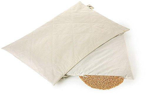 Oreiller cervical à la balle de Millet BIO | Oreiller bio naturel | Dream & Dreams 30 x 40 cm