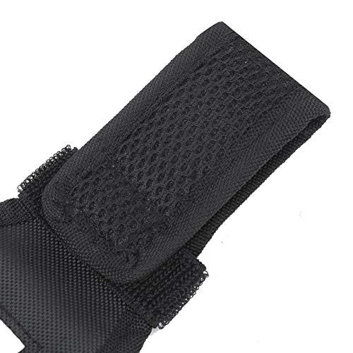 Bolsa de almacenamiento de aparejos de pesca de funda de cinturón de soporte de caña de pescar de alta resistencia, para amantes de la pesca