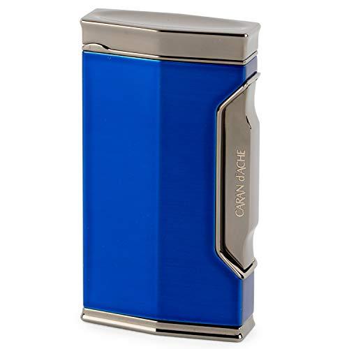 CARAN d'ACHE(カランダッシュ) ライター カランダッシュ01 バーナーフレーム 耐風仕様 ブラックニッケル×ダークブルー CD01-1102