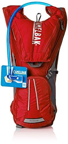 CamelBak - Mochila de hidratación para running o ciclismo, color Rojo, 40...