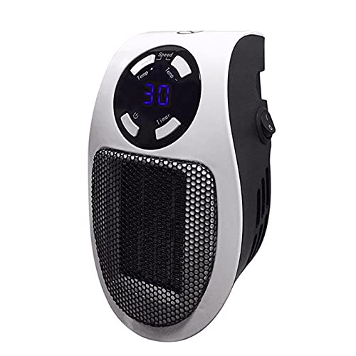 SXDEYAKJ Calentador eléctrico, Calentador pequeño Calentador de Espacio con termostato Calentador eléctrico portátil Seguro y silencioso para el hogar y la Oficina Cerámica Oficina Uso en el hogar