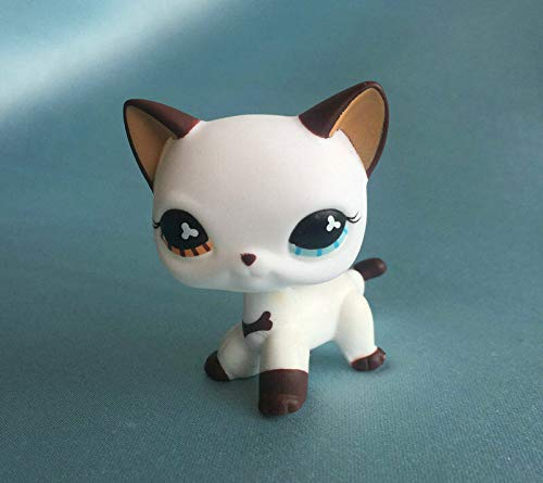 ZAD Custom OOAK LPSs Short Hair Cat White Hand Painted Figure