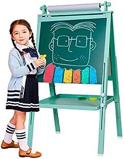 comprar comparacion Arkmiido 3 en 1 Caballete de Madera para niños Tablero de Dibujo magnético de Doble Cara Pizarra con Eje de Dibujo y Rollo...