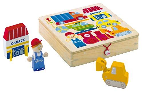 Sevi - 81677 - Puzzle en Bois - Play Puzzle Transport