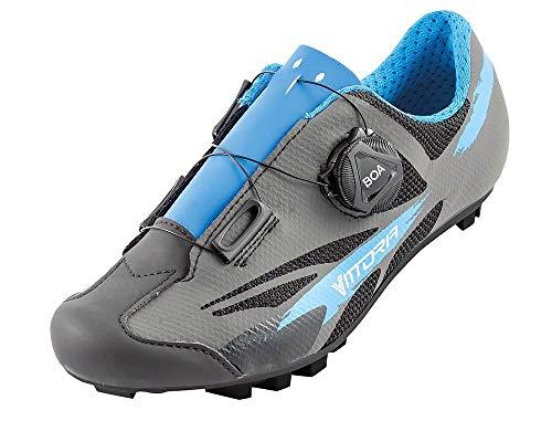 Vittoria Kid Boa MTB Cycling Shoes (EU 35, Blue)