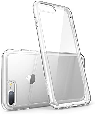 i-Blason Case for iPhone 7 Plus 2016 /iPhone 8 Plus 2017 Release, Halo Series Scratch Resistant Clear Case (Clear)