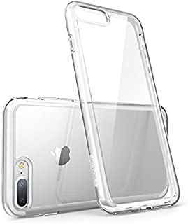 i-Blason Case for iPhone 7 Plus 2016 /iPhone 8 Plus 2017 Release, [Halo Series] [Scratch Resistant] Clear Case (Clear)