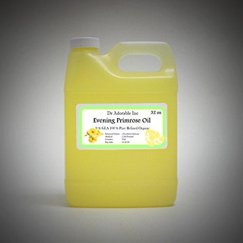 Evening Primrose Oil 9% GLA Health Natural Care 32 Oz/1 Quart