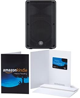 Yamaha DBR Series DBR12 Powered Speaker Cabinet with $50 Amazon Gift Card