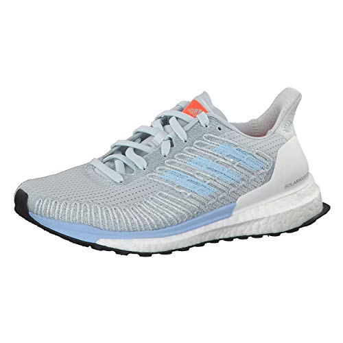adidas Performance Solar Boost 19 ST Laufschuh Damen hellblau, 7 UK - 40 2/3 EU - 8.5 US
