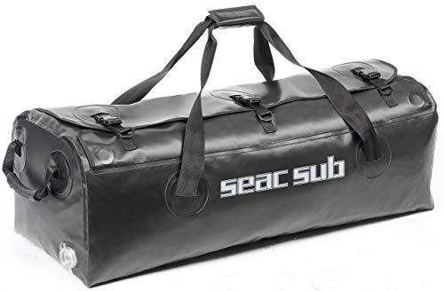 Seac U-Boot, Borsa Unisex – Adulto, Nero, Taglia Unica