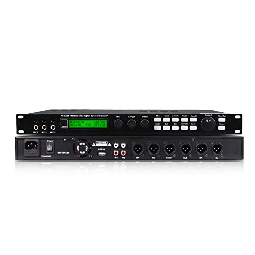 Depusheng S5 Digital Mixer Reverberator Microphone KTV Karaoke Audio Processor