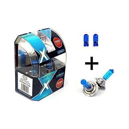 H7 W5w GlÜhlampen 12v 55w 5w Standlicht Extrem Blue Xenon Optik Auto