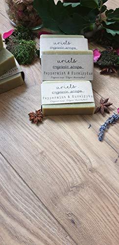 Organic Peppermint & Eucalyptus soap