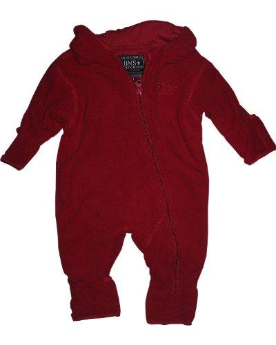 BMS Antarctic Fleece Overall rot-98 - Kindermode : Baby - Mädchen