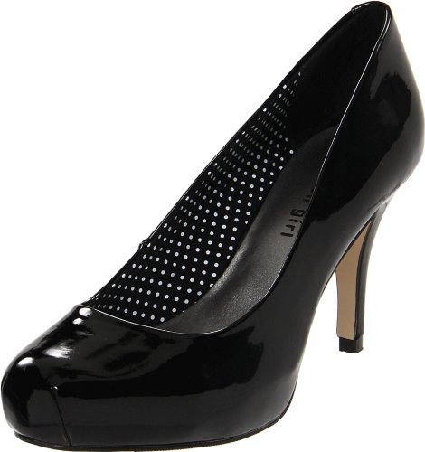 Madden Girl Women's Getta Pump,Black Patent,8.5 M US