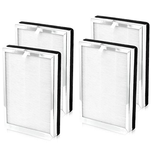 Cabiclean 2 Set MA-25 H13 True HEPA Replacement Filter for Medify Air MA-25 Air Purifier, 3-in-1 True HEPA, Activated Carbon and Pre-Filter