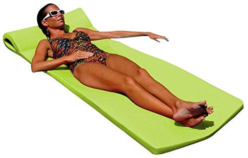 Pool Mate XX-Large Foam Mattress Swimming Pool Float, Lime