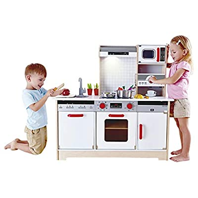 Hape Kids All-in-1 Wooden Play Kitchen with Accessories from Hape Inc