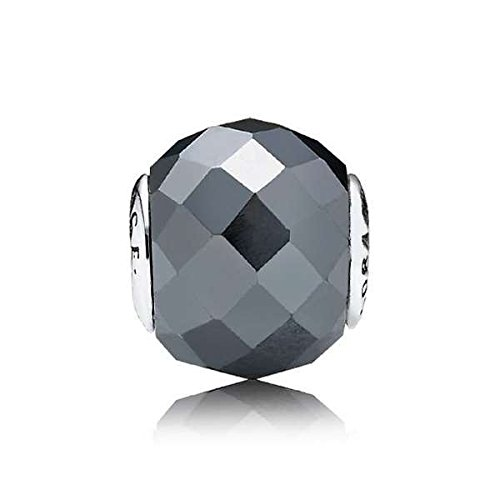 Pandora–Charm da Donna in Argento Sterling 925haematit Essence Nero 796004hes