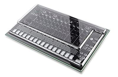 Decksaver DSS-PC-TR8 Impact Resistant Polycarbonate Cover for Roland Aira TR-8