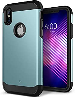Caseology Legion for Apple iPhone X Case (2017) - Reinforced Protection - Aqua Green