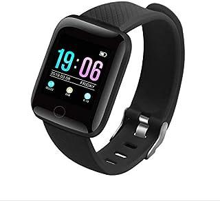 CYCN Pulsera de fitness con pulsómetro, resistente al agua IP67, pantalla táctil de 1,3 pulgadas, para hombre y mujer, para Android i-OS.