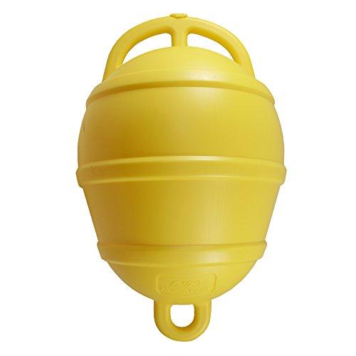Nuova Rade Boa   Boe di ormeggio   Boa di ancoraggio   39 cm   ø 25 cm   in bianco, giallo ed arancione (Giallo)