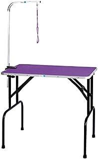 Master Equipment Grooming Table w/36In Grooming Arm, 36x24In Purple