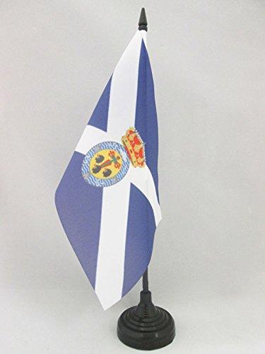 AZ FLAG Bandera de Mesa de Santa Cruz DE Tenerife 21x14cm -