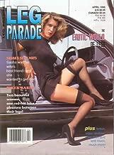 Leg Parade Adult Magazine April 1996