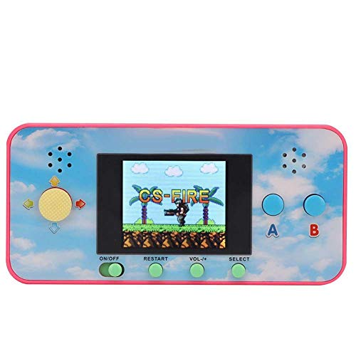 Zwindy Reproductor de Juegos portátil   Mini Consola de Juegos portátil 106 en 1,Gamepad de Bolsillo portátil,Consola de Juegos clásica para Adultos,Juegos para niños de 8 a 12 años.(Rojo)