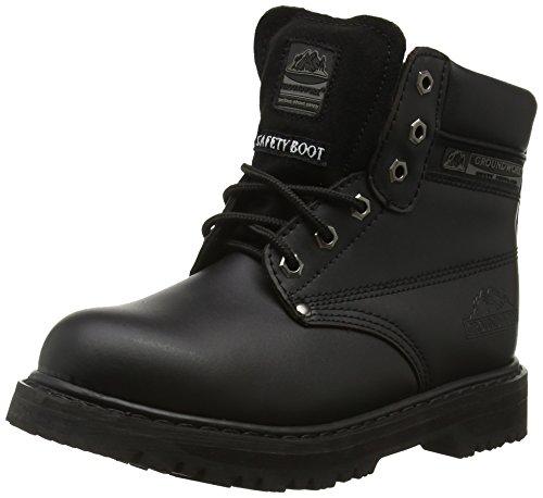 Groundwork SK21 L, Unisex - Erwachsene Sicherheitsschuhe, Schwarz - schwarz - Größe: 42 EU (8 UK)