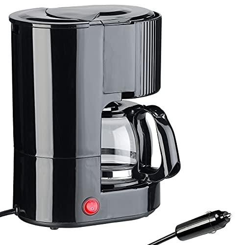 Cafetière électrique allume-cigare 650 ml pour jusquà 3 tasses- 12 V / 170 W [Rosenstein & Söhne]