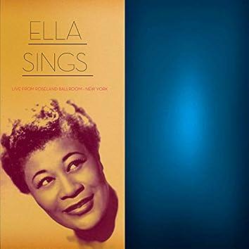 Ella Sings Live from Roseland Ballroom in New York