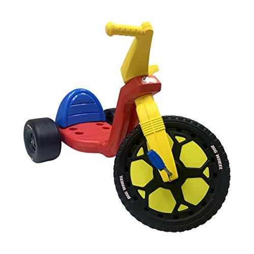 The Original Big Wheel 16 Tricycle Big Wheel for Kids 3-8 Boys Girls Trike - Original 1969 Clicker Sound - Made in USA
