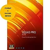 Magix Vegas Pro Edit 18 Student & Teacher Edition (Download Card) Professional Video & Audio Editing