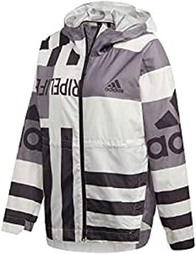 adidas Damen Jacke W URB AOP W.RDY, Blabas, S, FI0633