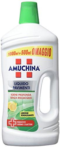 Amuchina Liquido Pavimenti, Rimuove Germi e Batteri - 1.5 L