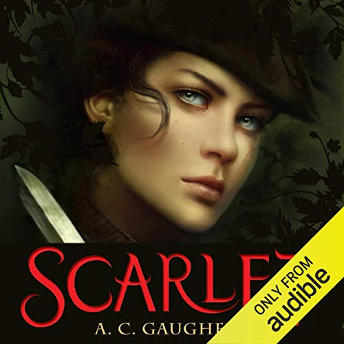 Scarlet Audiobook By A. C. Gaughen cover art