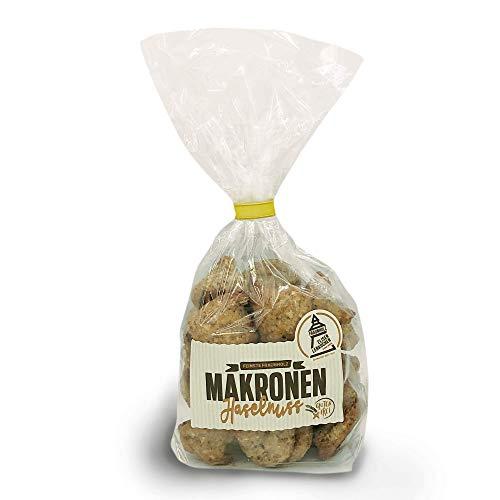 Makronen vom Meisterhändler | Glutenfrei | feinste Haselnuss-Makronen | unglasiert