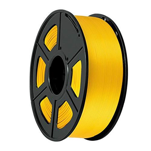PLA-Filament 1,75mm, 3D-Druckerfilament 1kg (2.2lb), Dimensionsgenauigkeit +/- 0,02 mm, für 3D-Drucker und 3D-Stifte-Golden