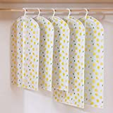 Cubierta de la Capa del Juego con Cremallera Espesar PEVA Bolsas de Almacenamiento Protector Impermeable Bolsa de Almacenamiento (Color : Lemon Yellow)