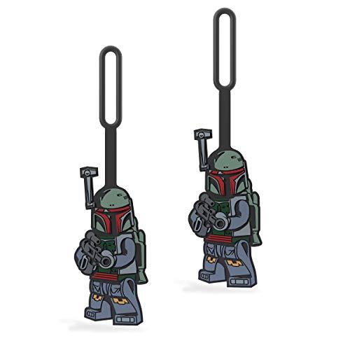 LEGO Star Wars Boba Fett Luggage/Bag Tag - 2 Pack