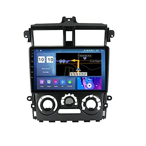 ADMLZQQ Android 10 Estéreo para automóvil Navegación GPS Radio para Mitsubishi Colt Plus 2007-2012 FM USB Control del Volante Enlace Espejo Bluetooth cámara de visión Trasera,M600s