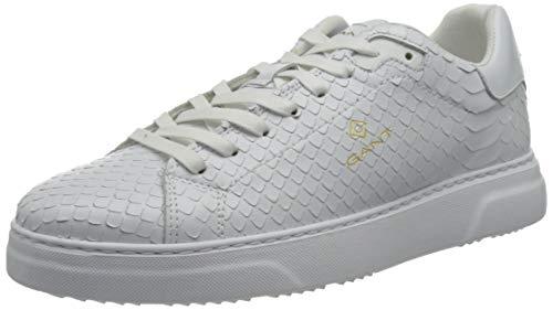 GANT Footwear Herren Joree Sneaker, wht Snake Opt, 40 EU
