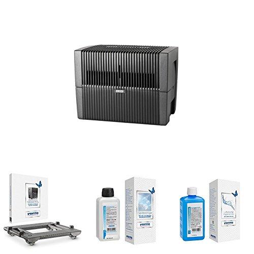 Luftwäscher anthrazit + Rollwagen + Reiniger + Hygienemittel