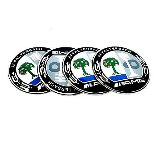 YIKA Chrome Metal Apple Tree Emblems Badge Key Cover
